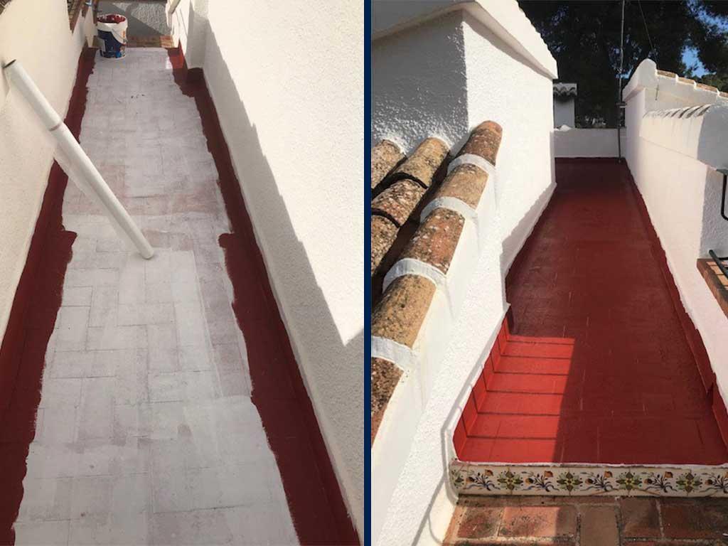 Impermeabilización Pinturas Juanvi Ortolà