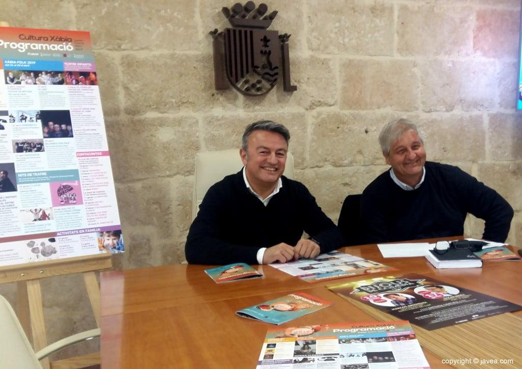 José Chulvi i Quico Moragues presenten la programació cultural de 2019