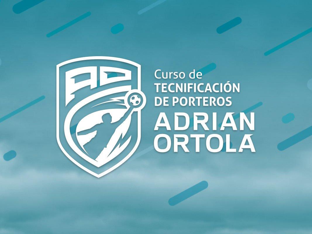 Logo del II Curso de Tecnificación de Porteros Adrián Ortolá