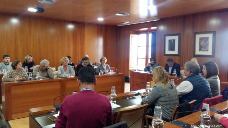 Pleno de aprobación de las modificaciones del PGE en Xàbia