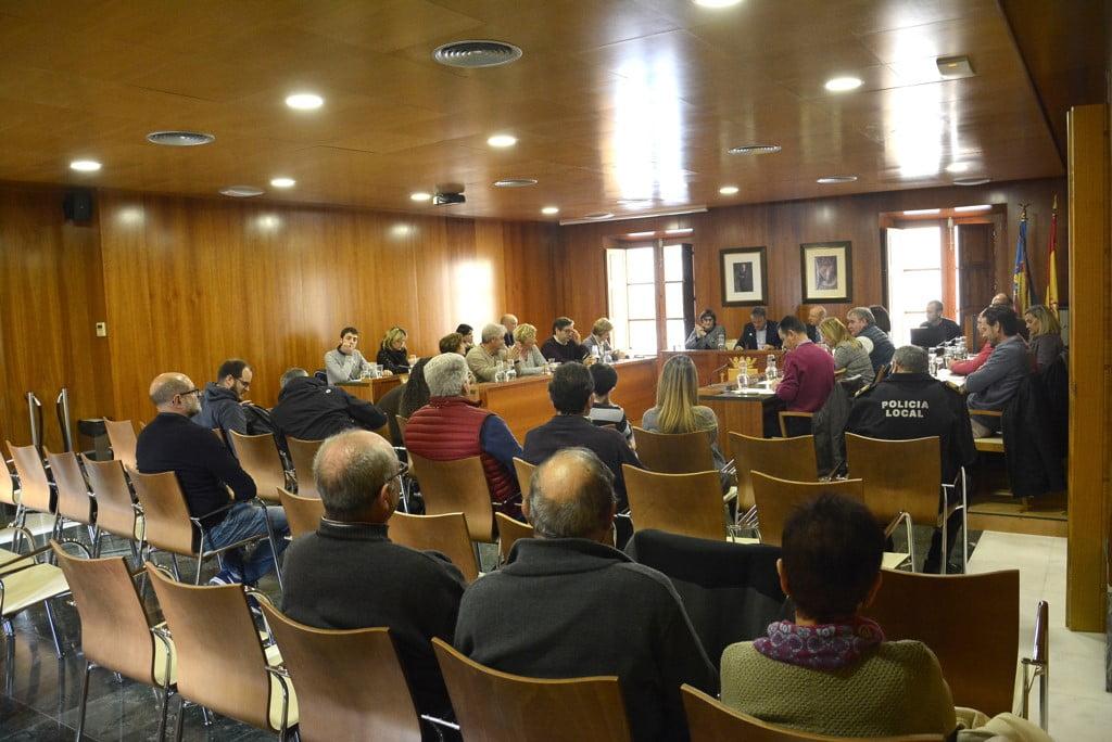 Pleno en Xàbia sobre las modificaciones del PGE