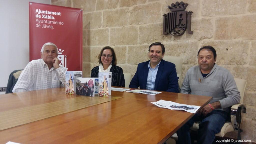 Presentación de las fiestas de Sant Antoni en Xàbia