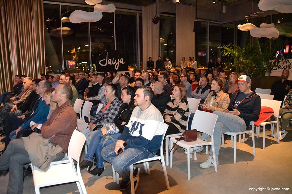 Público asistente a la presentación del Circuit a Peu
