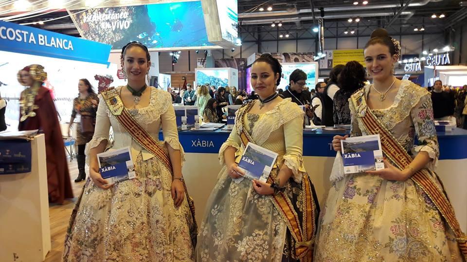 Reinas y damas de 2018 en Fitur