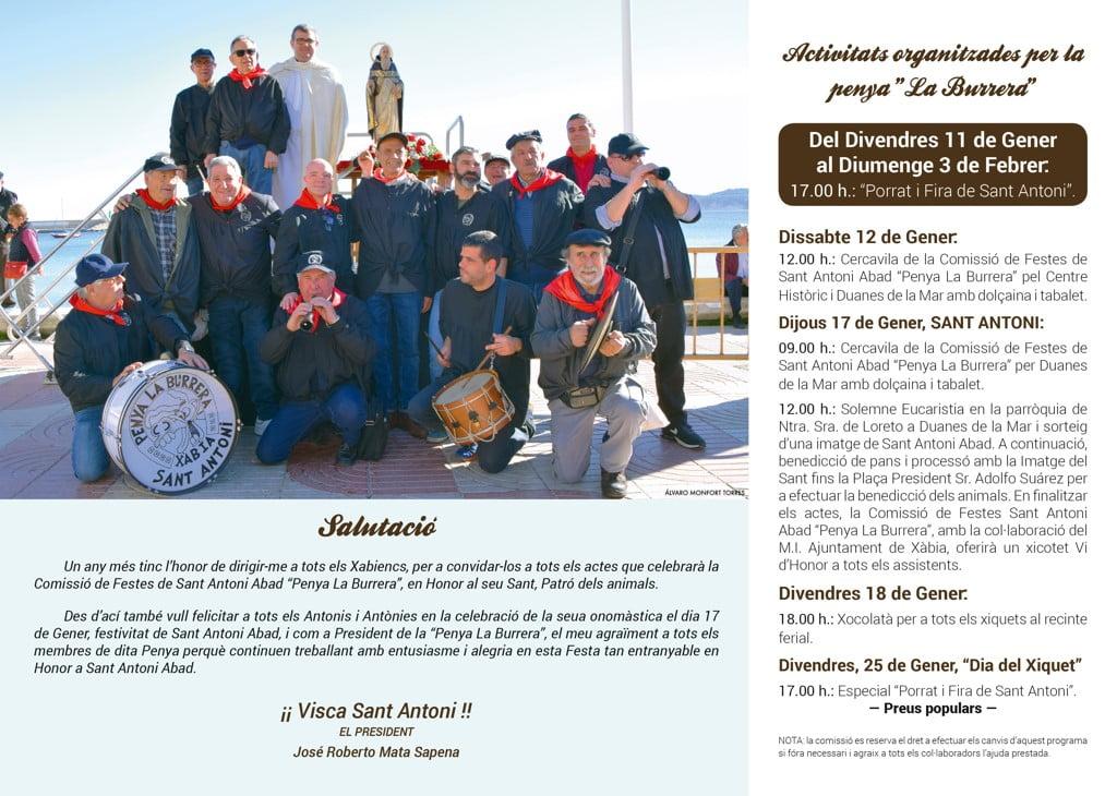 Sant Antoni – Penya la Burrera
