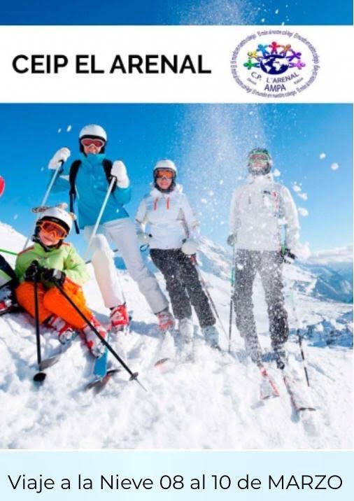 Viaje a la nieve CEIP Arenal