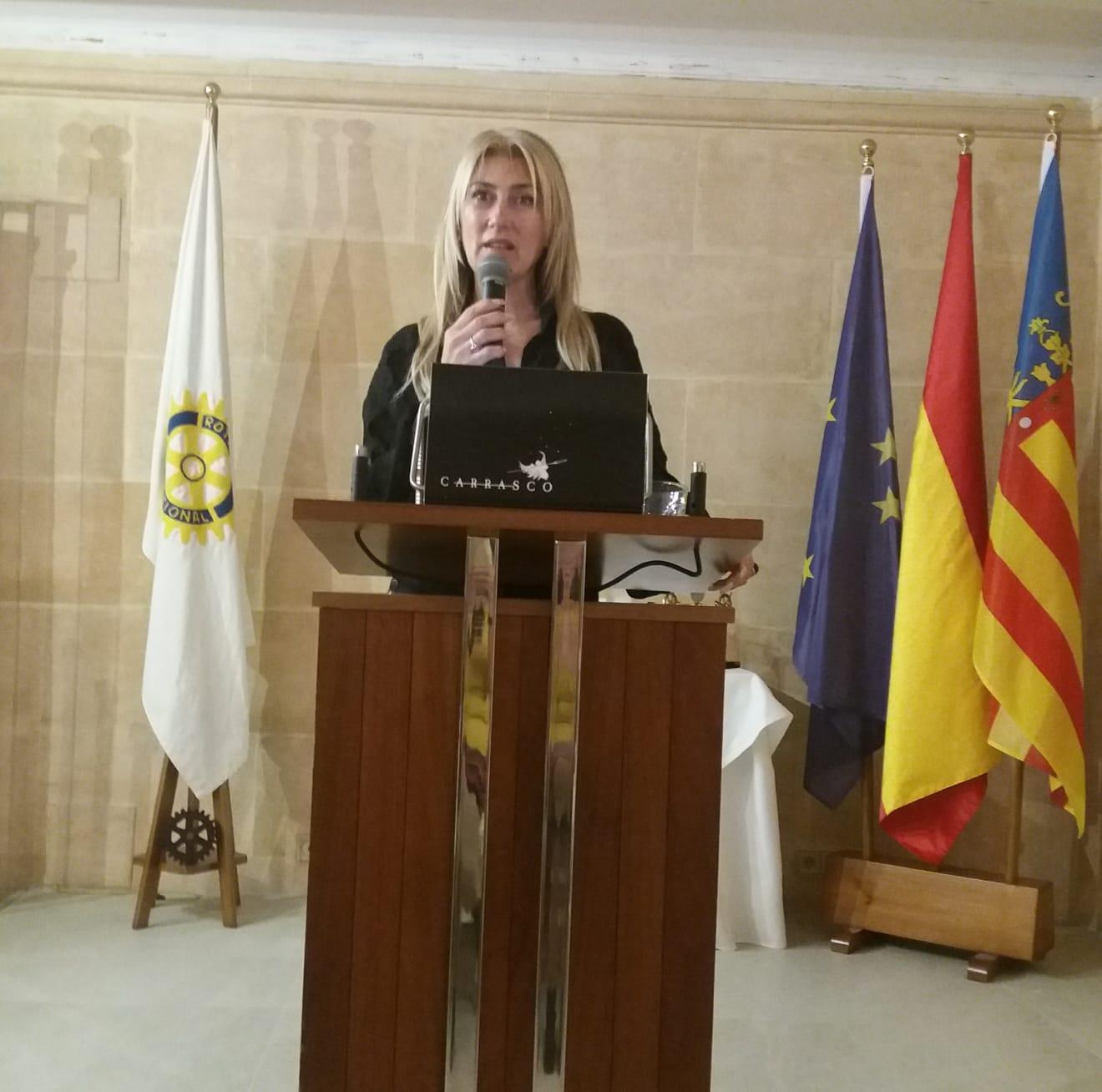 Antonia Chinchilla en Xàbia