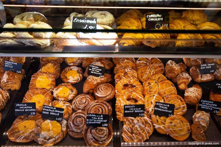 Bolleria y delicias de Austriaco Cafe Wien