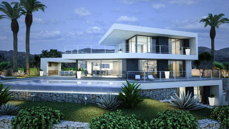 Casa fabulosa y moderna de quality rent a villa