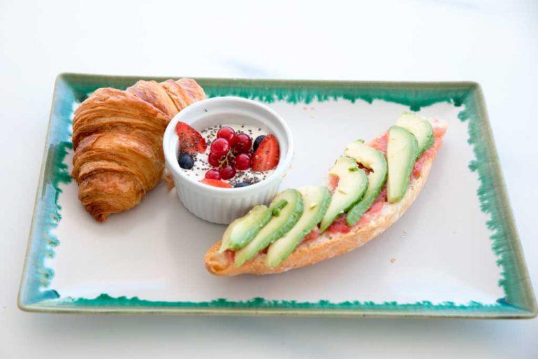 Esmorzar vegà Restaurant La Terrassa del Canal
