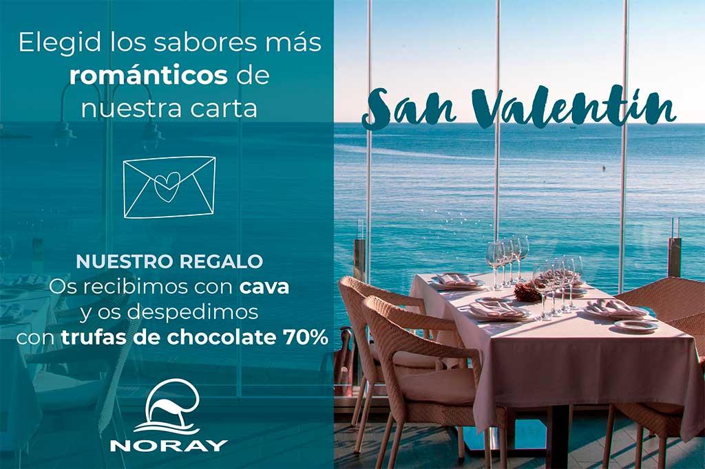 Especial San Valentín Restaurante Noray
