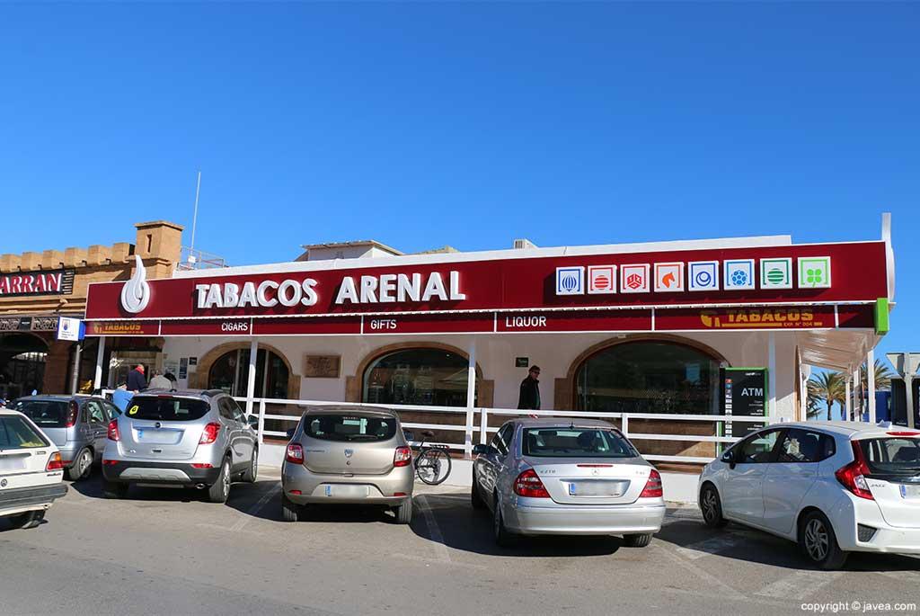 Fachada Tabacos Arenal