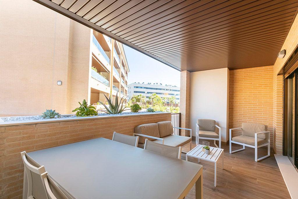 Fantástica terraza amueblada Quality Rent a Villa