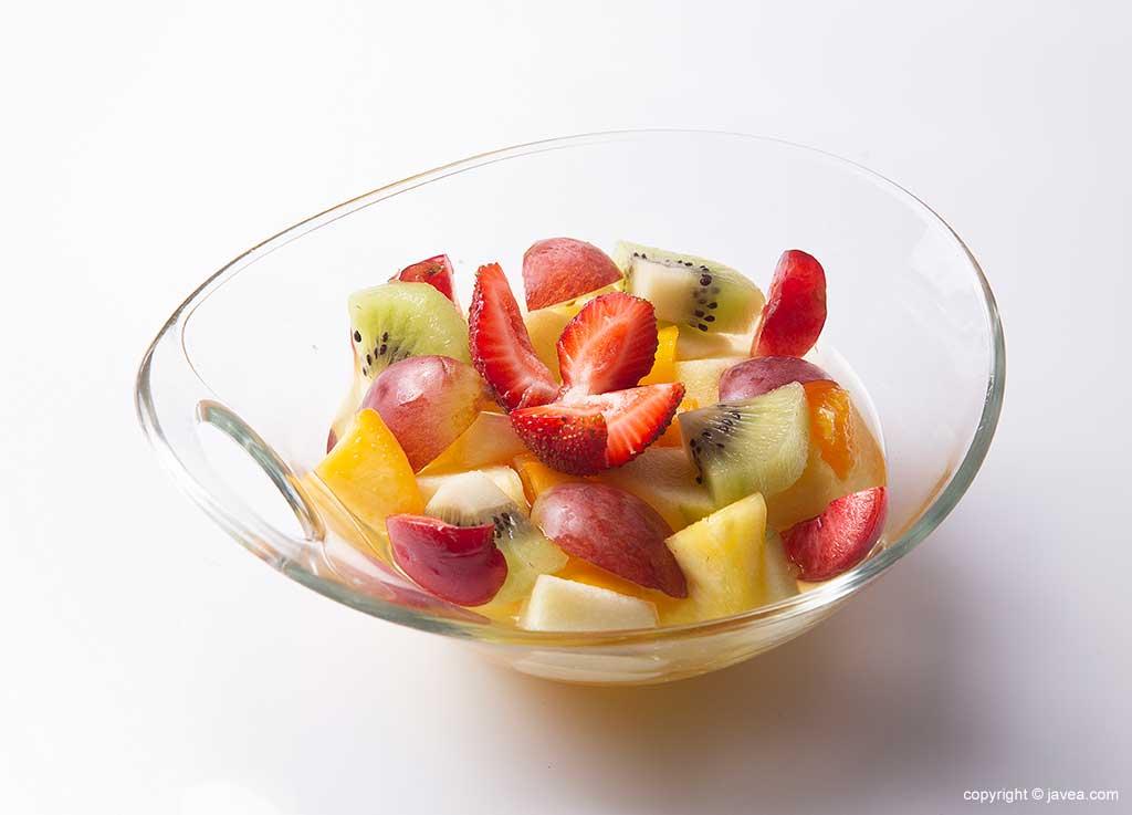 Frutas y desayunos sanos en Austriaco Cafe Wien