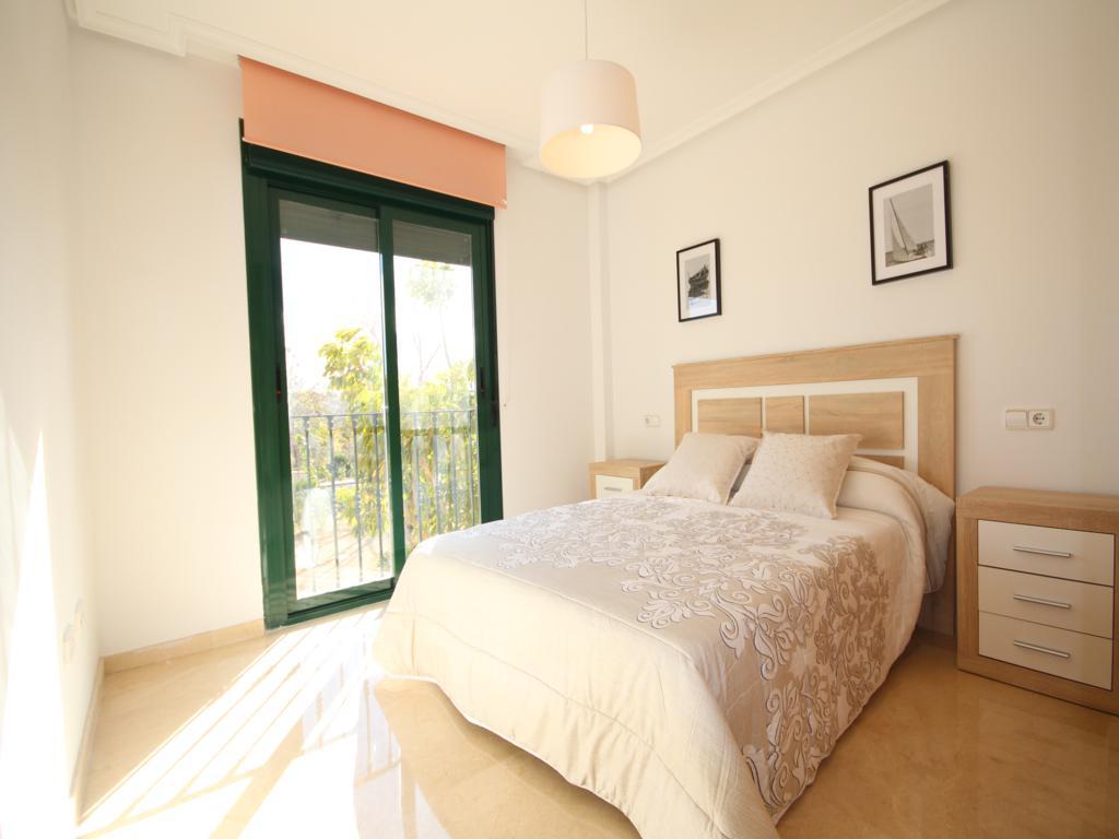 Dormitori doble de l'apartament de Atina Immobiliària