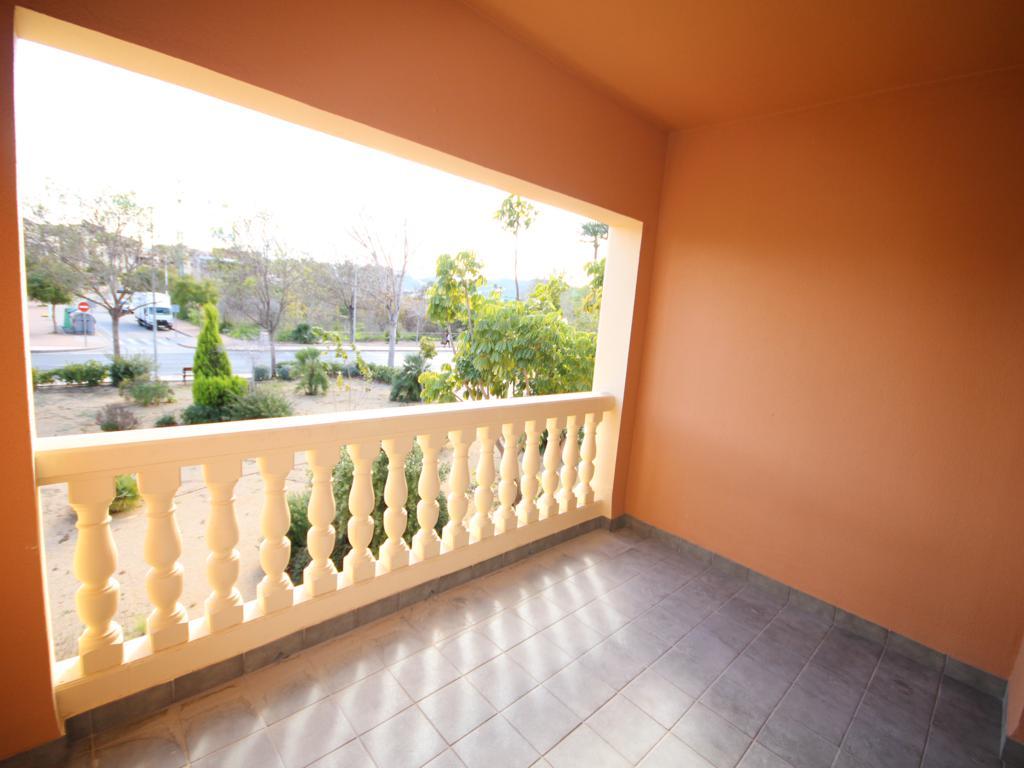 Terrassa exterior de l'apartament de Atina Immobiliària