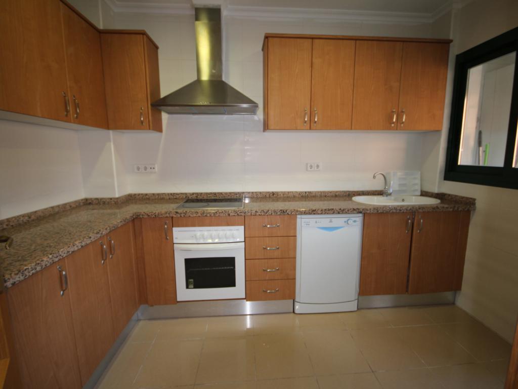 Àmplia cuina de l'apartament de Atina Immobiliària