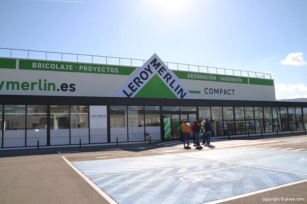 Nuevas instalaciones de Leroy Merlín Compact en Ondara