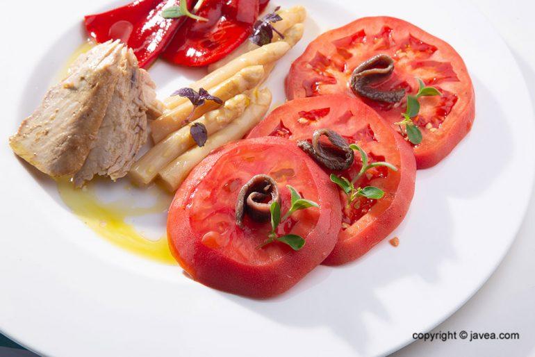 Plato refrescante - Restaurante La Terraza del Canal