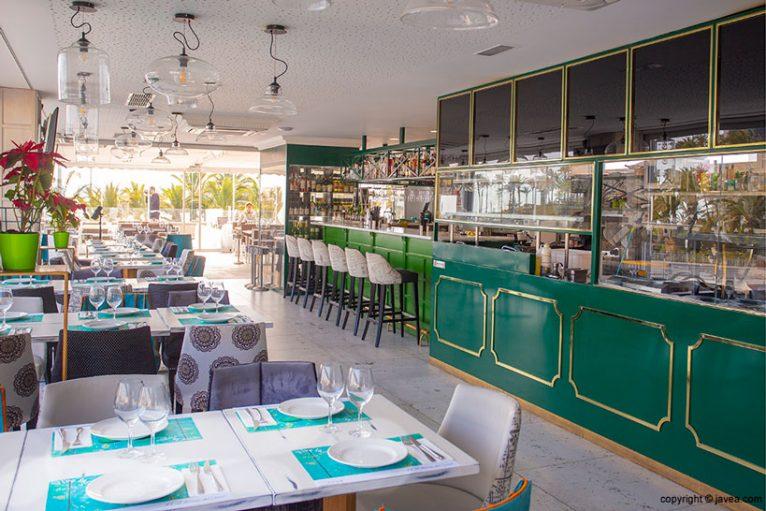 Restaurant a Xàbia - La Terrassa de Canal