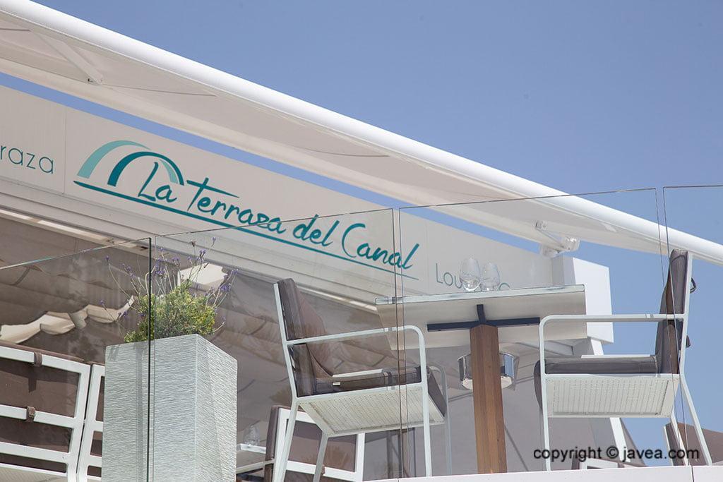 Rètol - Restaurant La Terrassa del Canal