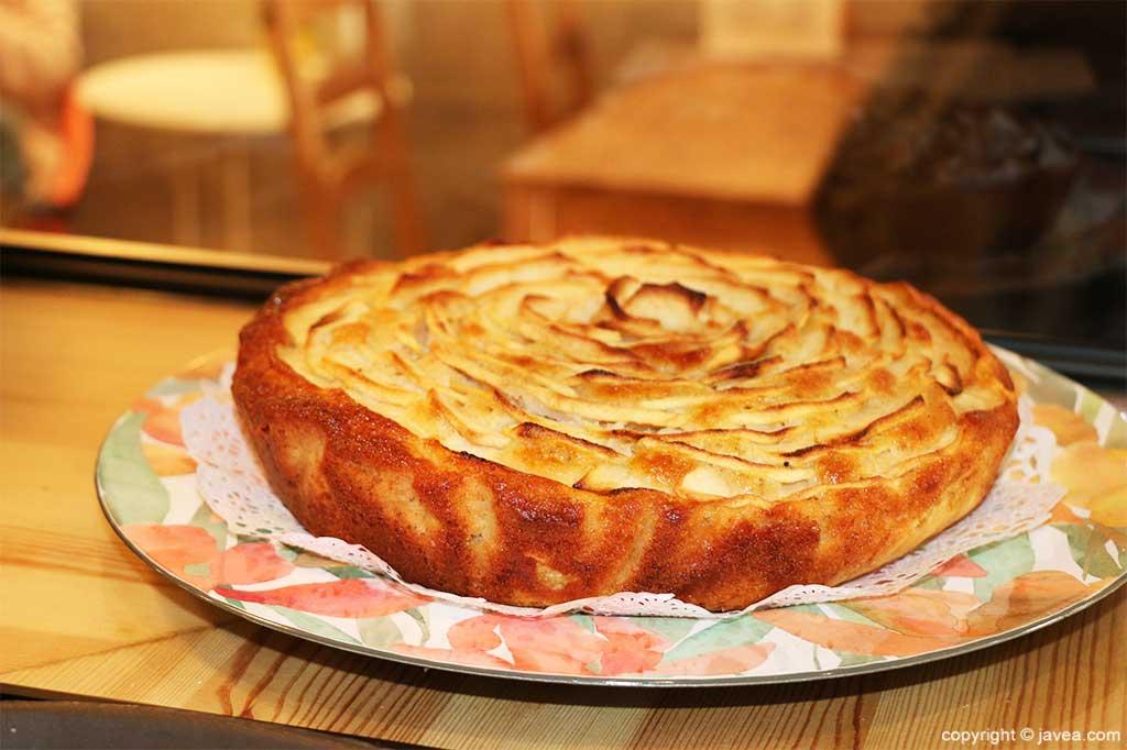 Pastís de poma Ona by Biohurtado