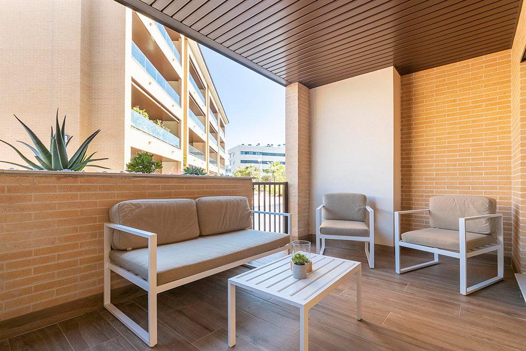 Terraza para tomar algo al aire libre Quality Rent a Villa