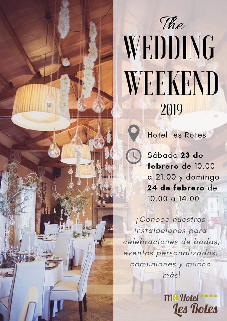 Hotel Les Rotes begins its wedding season by announcing its