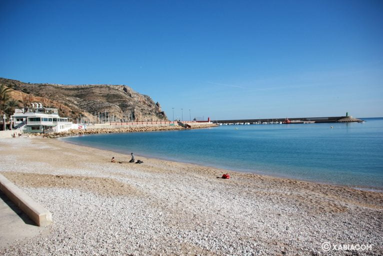 Playa de la Grava de Jávea