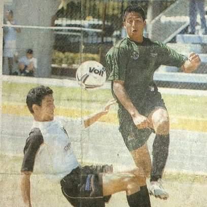 Aarón jugaba en Tercera División de fútbol