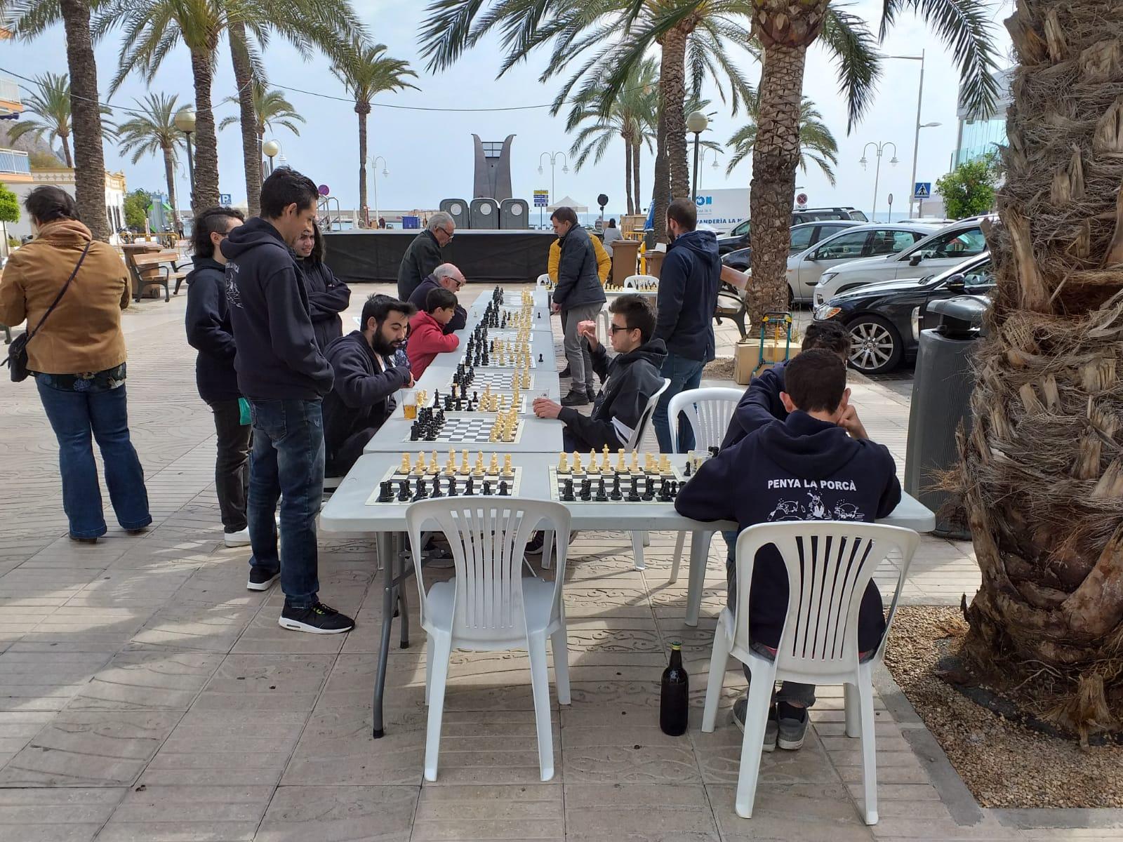 Actividades de Ajedrez en el Mig Any