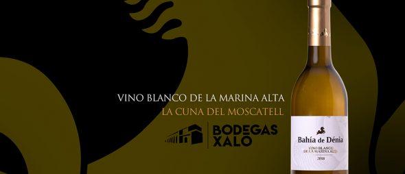 Bahía de Dénia, vino blanco de Bodega Xaló