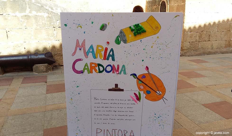 Cartel de María Cardona