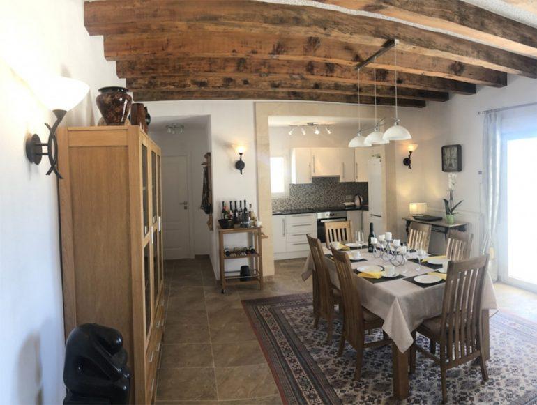 Cocina y comedor de la villa-Terramar Costa Blanca