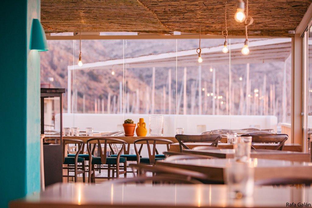 Desayunos y comidas vistas al mar Cala Bandida