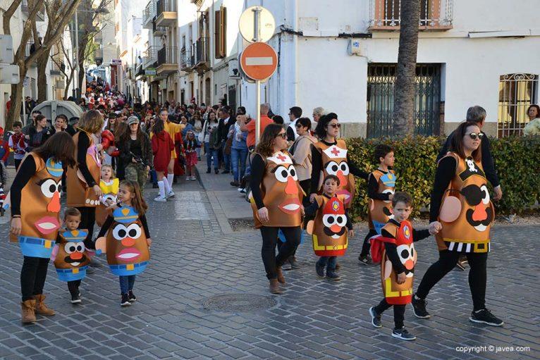Disfressa de Potato al Carnaval de Xàbia