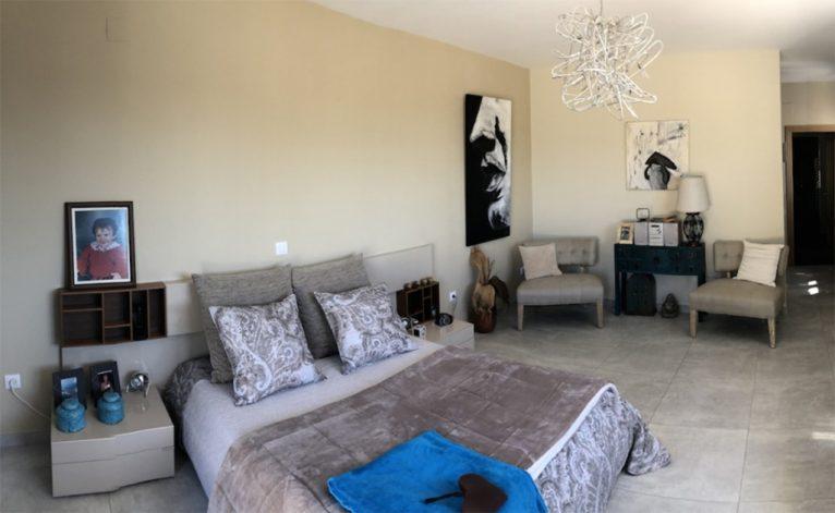 Dormitorio de la casa Terramar Costa Blanca