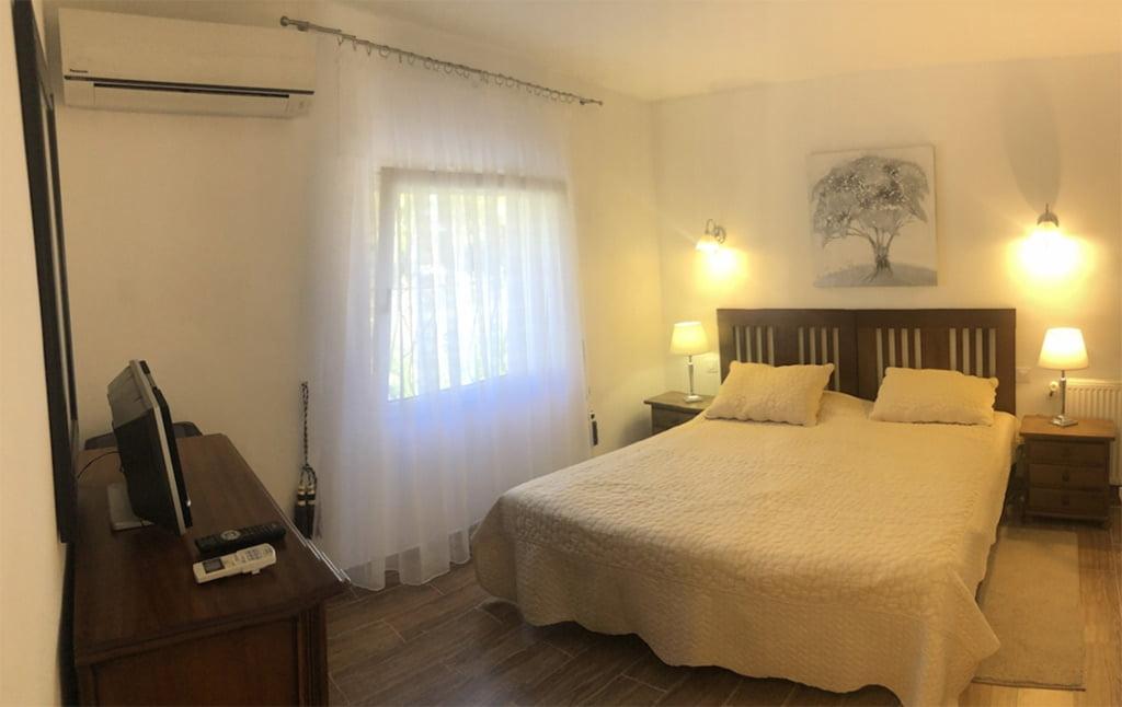 Dormitorio de la villa Terramar Costa Blanca