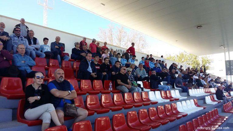 Espectadores asistentes al partido