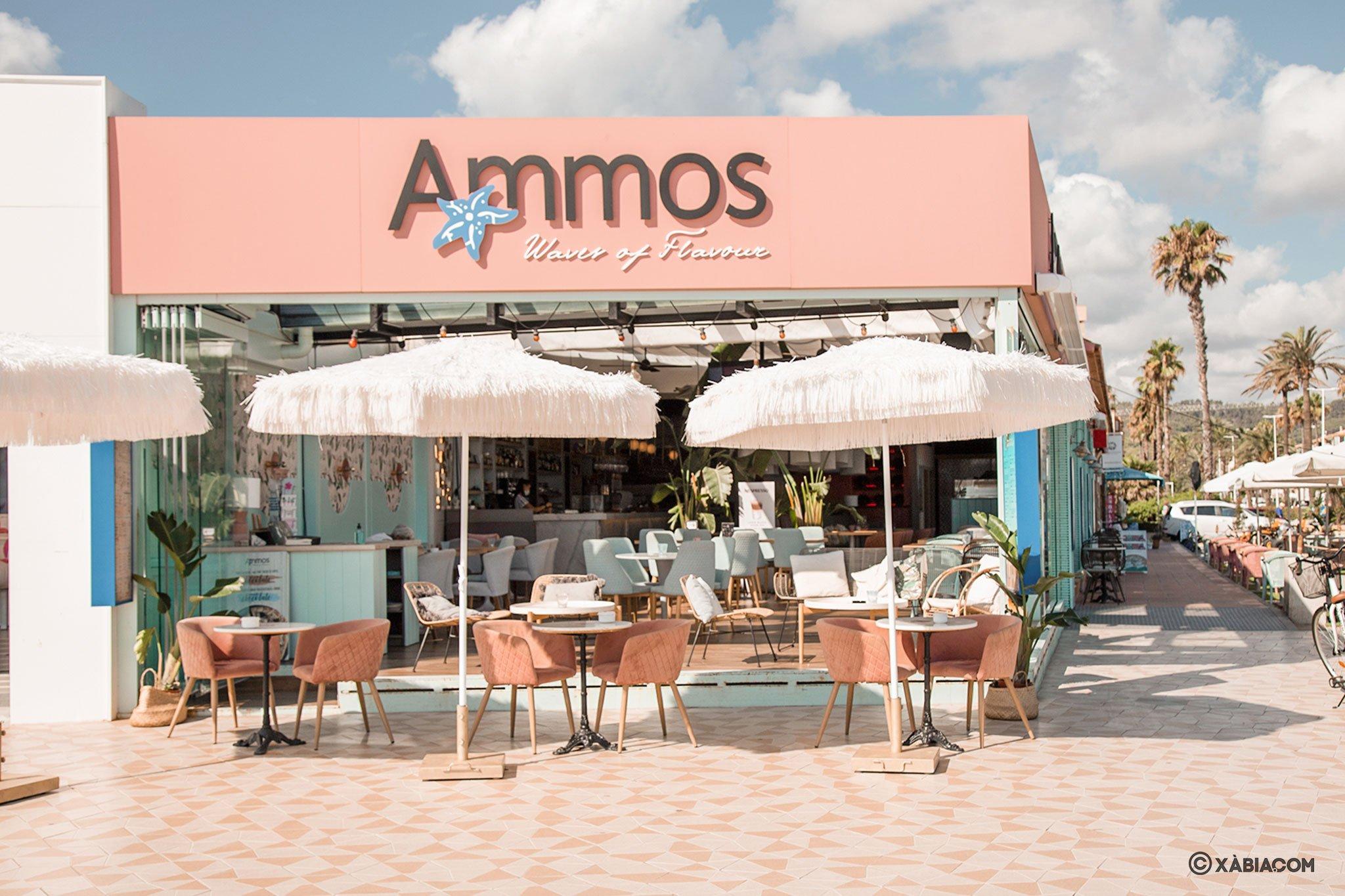 Exterior de Restaurante Ammos en Jávea