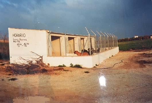 Instalaciones de Apasa antes, hace 20 años