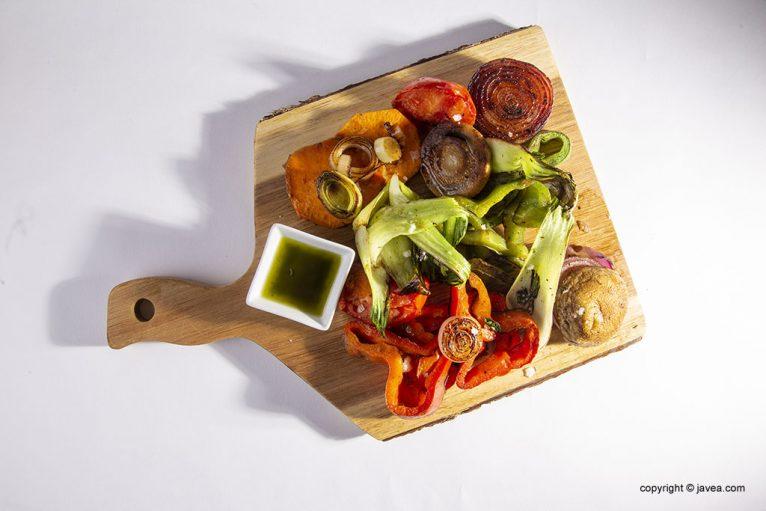 Verduras - Restaurante Ammos