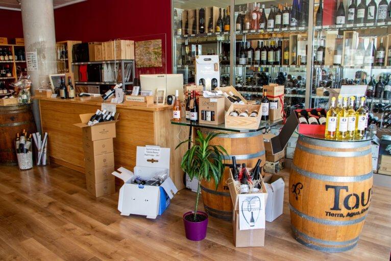 Recepción Casa del Vino
