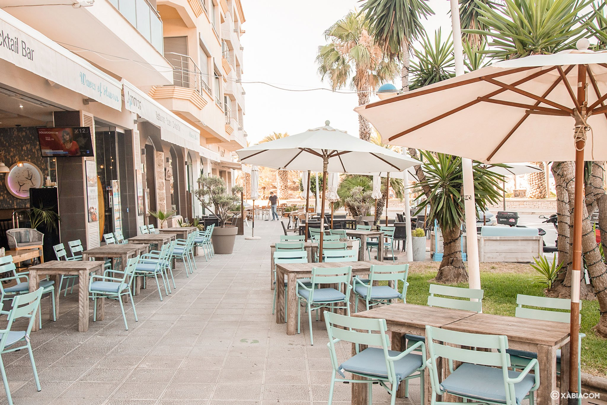 Terraza en Moraira – Restaurante Ammos