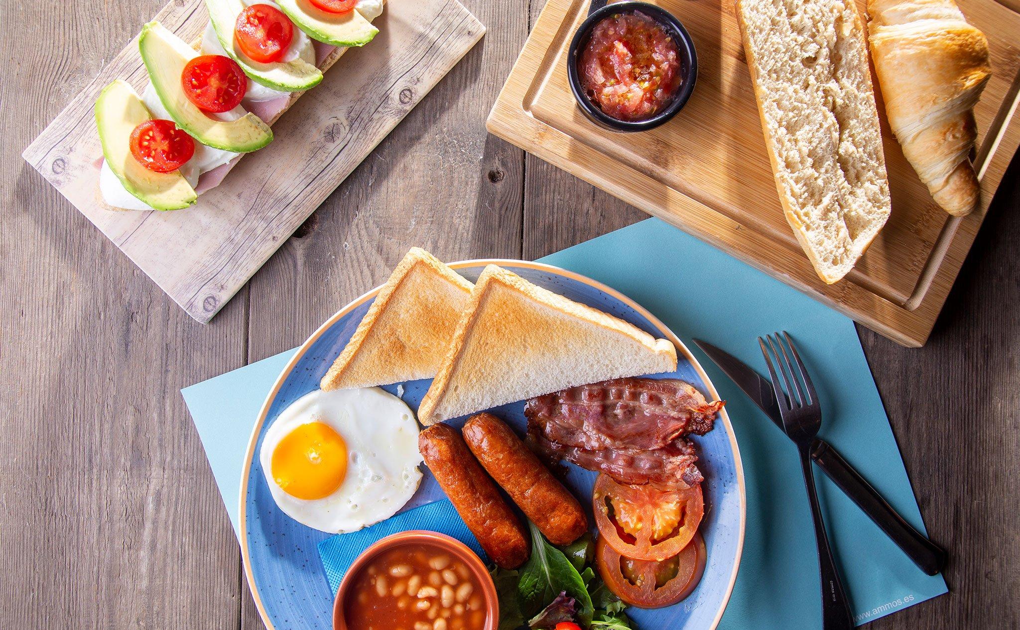 Desayuno en Restaurante Ammos
