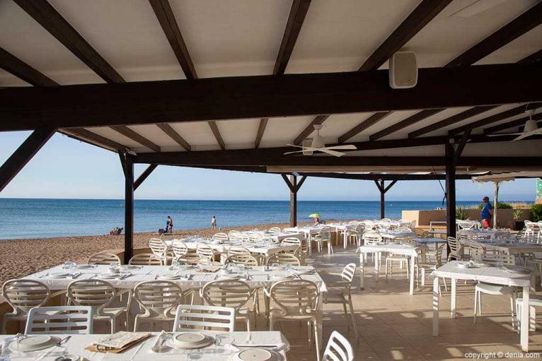 Terraza junto al mar Restaurant Noguera