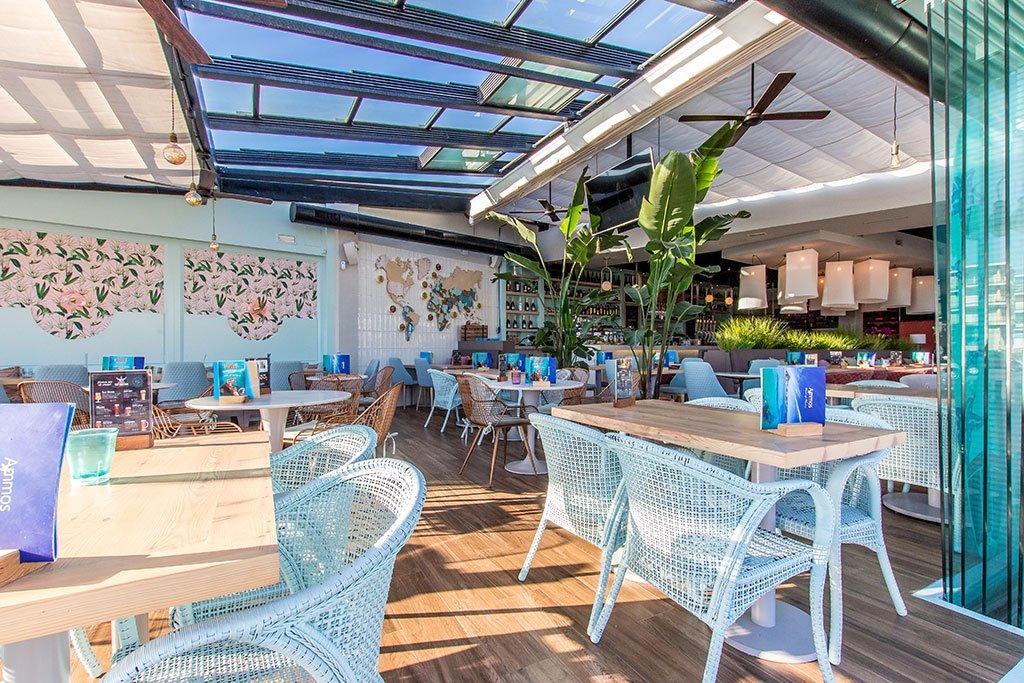 Terraza en el Arenal – Restaurante Ammos