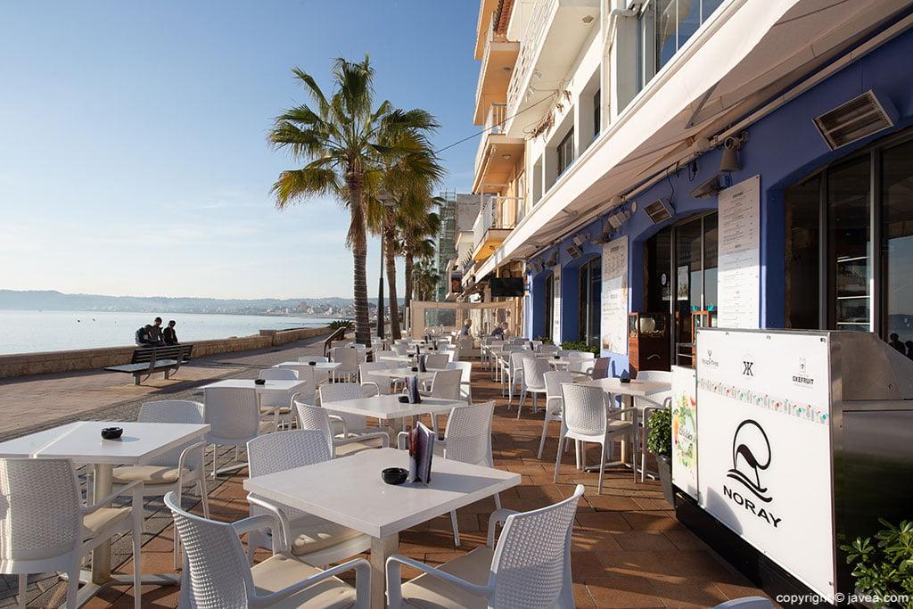Terraza Restaurante Noray