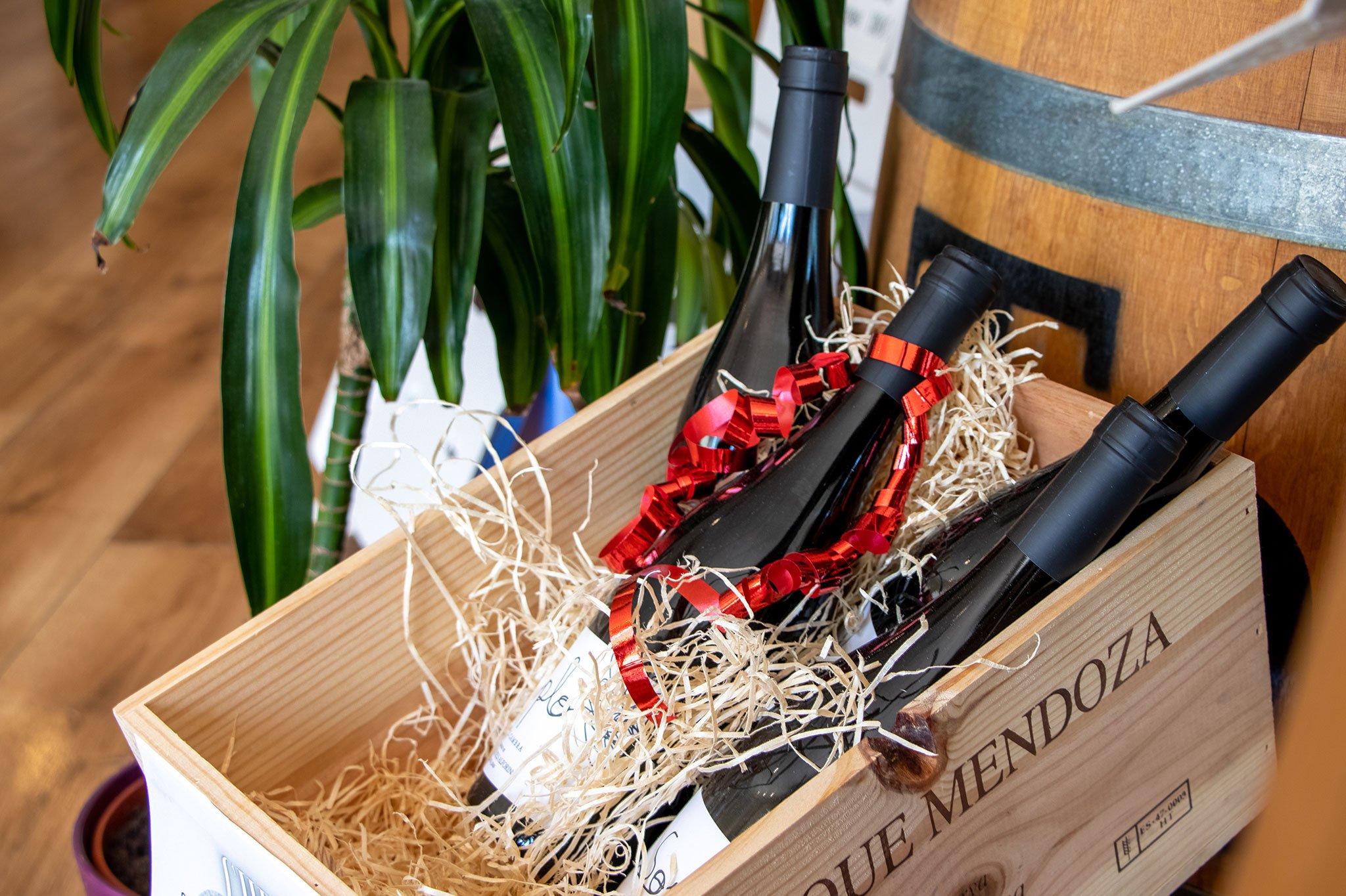 Packs para regalar en Casa del Vino