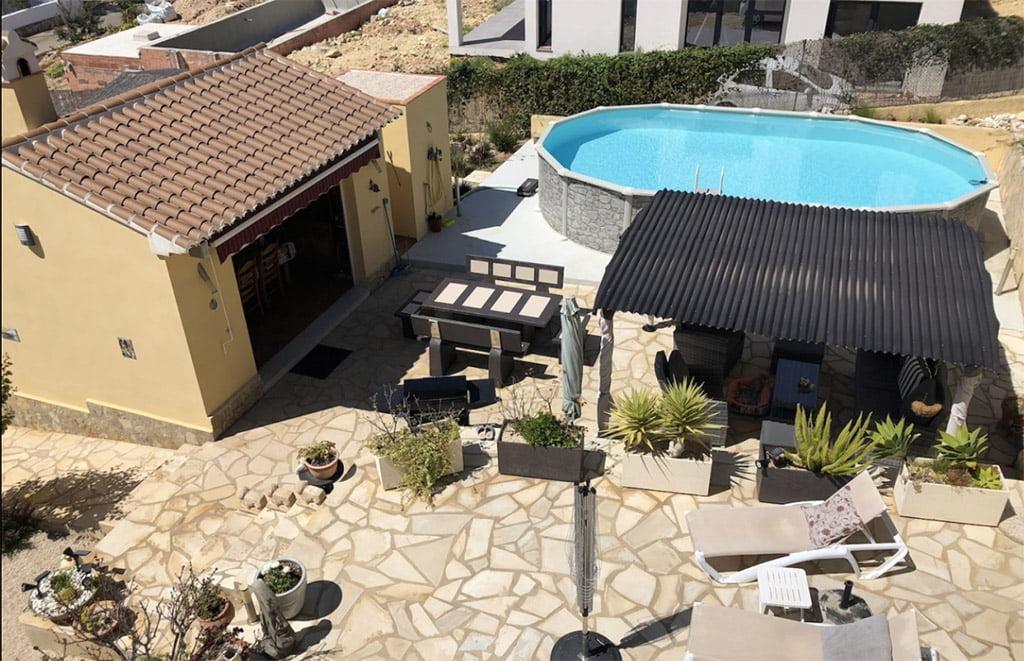Vivienda con piscina Terramar Costa Blanca